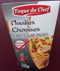 Nouilles Chinoises au Poulet & Légumes Croquants - Produit
