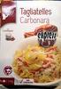 Tagliatelles Carbonara - Product