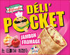 Déli'Pocket jambon fromage - Product