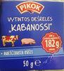 Vytintos kiaulienos ir jautienos dešrelės and 'Kabanossi' - Product