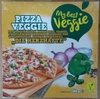 """Pizza Veggie """"Die Herzhafte"""" - Product"""