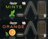 Fines feuilles de chocolat fourrées menthe - Produit
