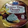 Creme Duo Dessert mit Sahne - Produkt