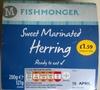 Sweet Marinated Herring - Prodotto