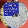 Grießpudding mit Sahne Pur - Produit