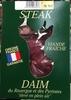 Steak de Daim du Rouergue et des Pyrénées élevé en plein air - Produit