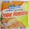 Croque monsieur - Fromage fondu - Produit