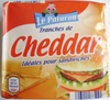 Tranches de Cheddar (23 % MG) 10 tranches - Product