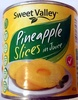 Sweet Valley Pineapple Slices in Juice - Product