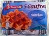 5 Gaufres sucrées - Product