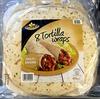 8 tortillas wraps multi-grains - Produit