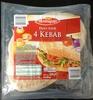 Pains pour 4 Kebab - Product