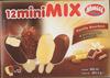 12 mini Mix (Vanille Bourbon) 4 enrobages différents - Produit