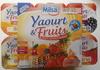 Yaourt & Fruits (Abricots, Ananas, Cerises, Fraises, Mûres, Pêches) 12 Pots - Product