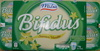 Bifidus saveur vanille (8 Pots) - Produit
