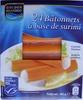 24 Bâtonnets à base de surimi (4 sachets fraîcheur) - Product
