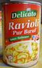 Ravioli Pur Bœuf (Sauce Italienne) - Produkt