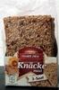 Knusper Knäcke Maxi - käse Kürbisken - Product