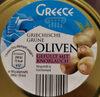 Griechische Grüne Oliven mit Knoblauch - Produkt