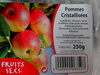Pommes cristallisees - Produit