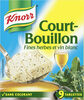 Knorr Court-Bouillon Fines Herbes 9 Cubes - Product