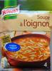 Knorr Soupe à l'Oignon 84g 4 Portions - Produit