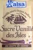 Sucre vanillé des Îles Alsa - Produit