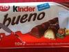 Bueno - Fines gaufrettes enrobées de chocolat au lait et noisettes - Prodotto