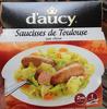 Saucisses de Toulouse aux choux - Prodotto