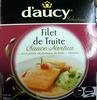 Filet de Truite, Sauce Nantua et sa purée de pomme de terre-cresson - Product