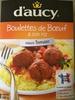 Riz, sauce à la tomate et boulettes de bœuf - Product