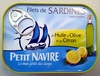 Filets de Sardines (à l'Huile d'Olive et au Citron) - Product