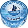 Thon entier naturel albacore MSC - Produit
