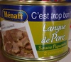 Langue de Porc Sauce Piquante - Produit