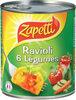 Ravioli 6 légumes recette vegetarienne - Produit