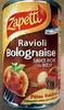 Ravioli Bolognaise (Sauce Riche en Bœuf) - Product