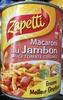 Macaroni au Jambon sauce tomate cuisinée - Produit