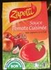 Sauce tomate cuisinée aux oignons et à l'ail - Produit