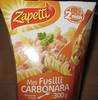 Mes Fusilli Carbonara - Product