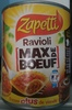 "Raviolis ""Max de Boeuf"" - Product"