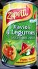 Ravioli 6 Légumes sauce Tomate au Basilic - Product