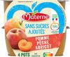 MATERNE SSA Pomme Pêche Abricot 4x100g - Prodotto