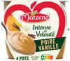 MATERNE Intense & Velouté SSA Poire Vanille 4x97g - Produit
