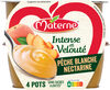 MATERNE Intense & Velouté SSA Pêche Blanche Nectarine 4x97g - Product