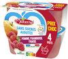 MATERNE SSA Pomme Framboise Fraise 4x100g Prix Choc - Product