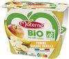 MATERNE BIO SSA Pomme Banane Vanille 4x100g - Prodotto