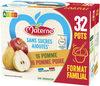 MATERNE (Sans sucres ajoutés) Pomme/Pomme Poire 32x100g Format Familial - Product