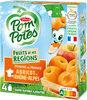 POM'POTES (Sans sucres ajoutés) Fruits de nos Régions Pomme Abricot de Rhône-Alpes - Product