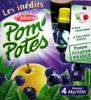 Pom'Potes pomme myrtille Materne - Prodotto