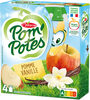 POM'POTES Pomme Vanille 4x90g - Product